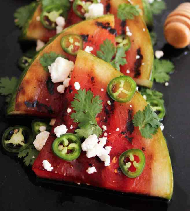 Grilled-Watermelon-with-Jalapeños-Feta-and-Honey-9