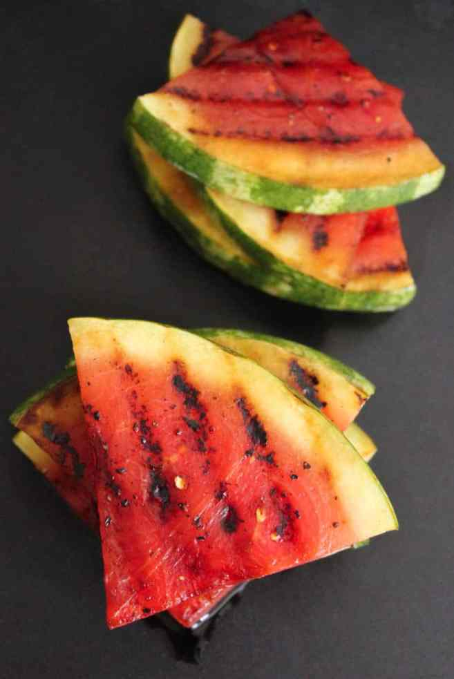 Grilled-Watermelon-with-Jalapeños-Feta-and-Honey-step-4