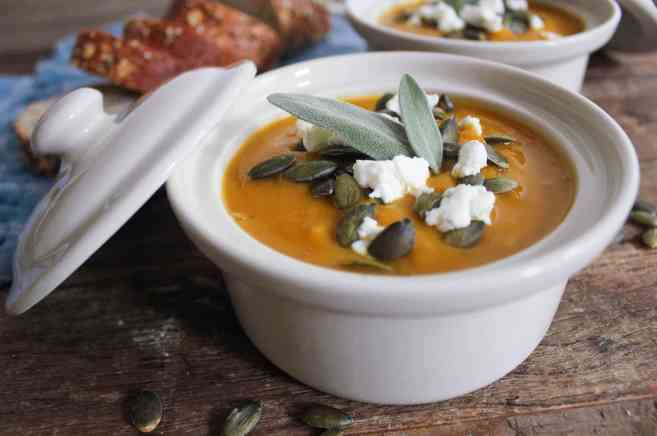 Butternut-Squash-Soup-with-Roasted-Garlic-Goat-Cheese-and-Pepitas-8