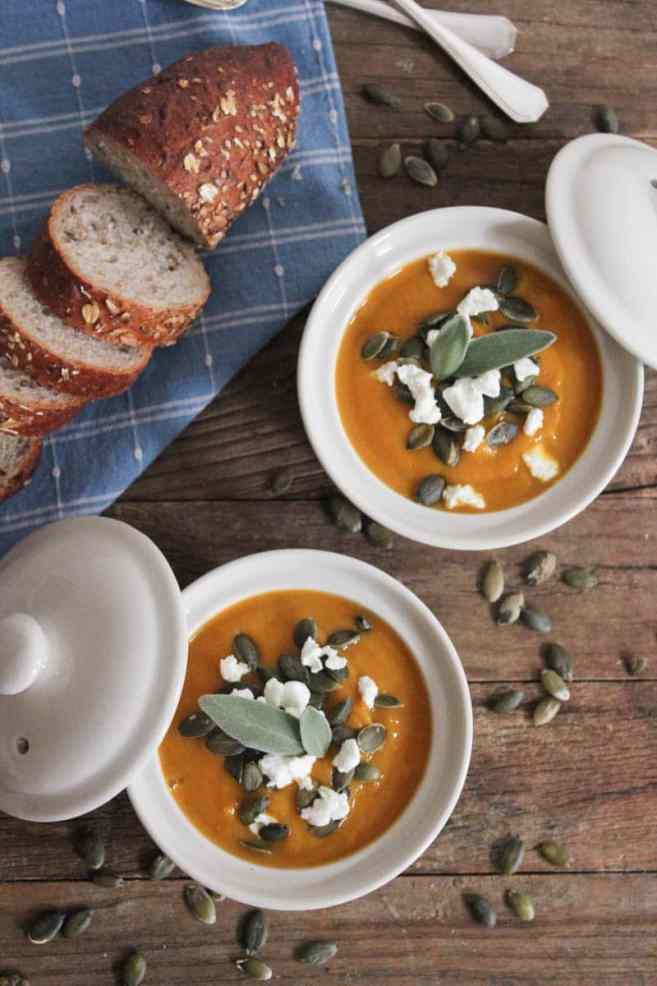 Butternut-Squash-Soup-with-Roasted-Garlic-Goat-Cheese-and-Pepitas-9