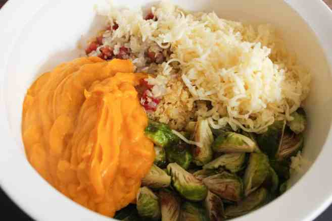Kabocha-Squash-Quinoa-Bake-with-Brussels-Sprouts-and-Pancetta-step-9