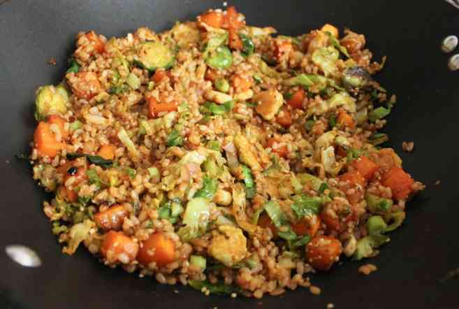 healthy-butternut-squash-and-brussels-sprouts-fried-rice-step-7