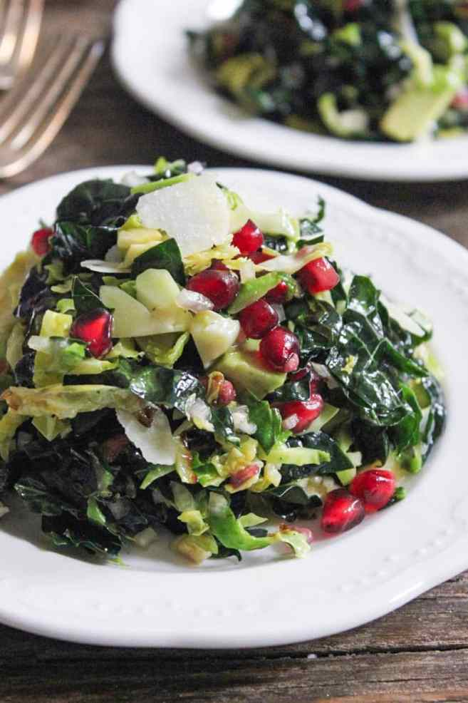 massaged-kale-and-shaved-brussels-sprouts-salad-with-pomegranate-and-avocado-6