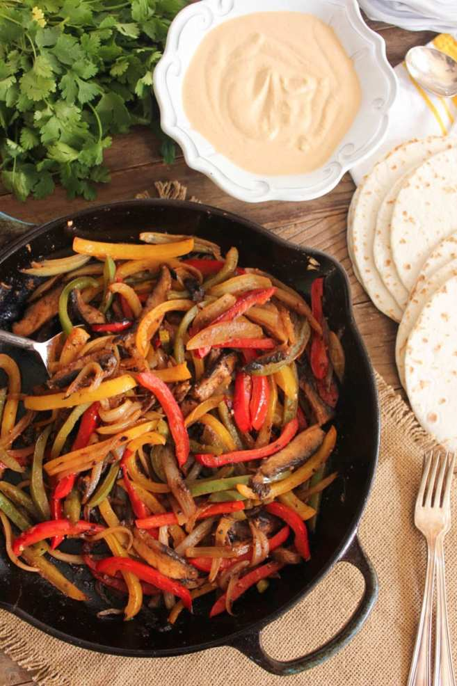 vegan-portobello-fajitas-with-chipotle-cashew-cream