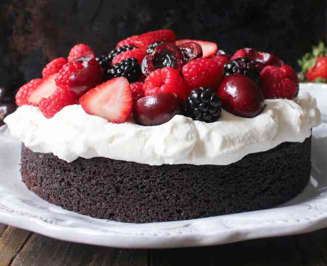 Foolproof-Chocolate-Cake-With-Whipped-Cream-and-Berries-7