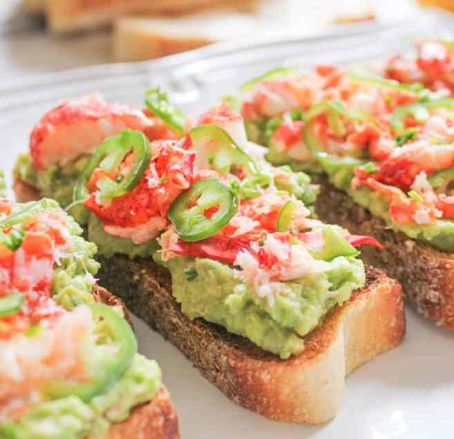 Lobster-Avocado-Toast-with-Jalapenos-4