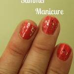 Sparkly Summer Manicure
