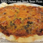 BBQ Chicken and Black Bean Pizza