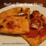 Perfect Thin Crust Pizza