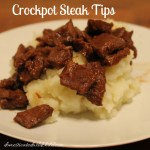 Crockpot Steak Tips