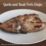 Garlic and Basil Pork Chops
