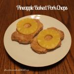 Pineapple Baked Pork Chops