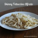 Skinny Fettuccine Alfredo