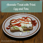 Avocado Toast with Fried Egg and Feta