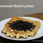 Homemade Blueberry Sauce
