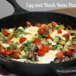Egg and Black Bean Hash
