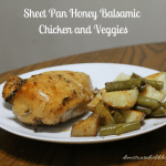 Sheet Pan Honey Balsamic Chicken and Veggies