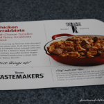 Tyson Tastemakers: Chicken Arrabbiata