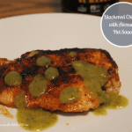 Blackened Chicken with Avocado Hot Sauce