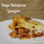 Ragu Bolognese Lasagna