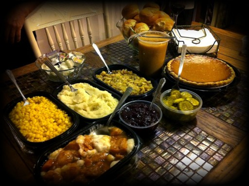 Knott's Turkey Day Spread (Minus the Turkey)