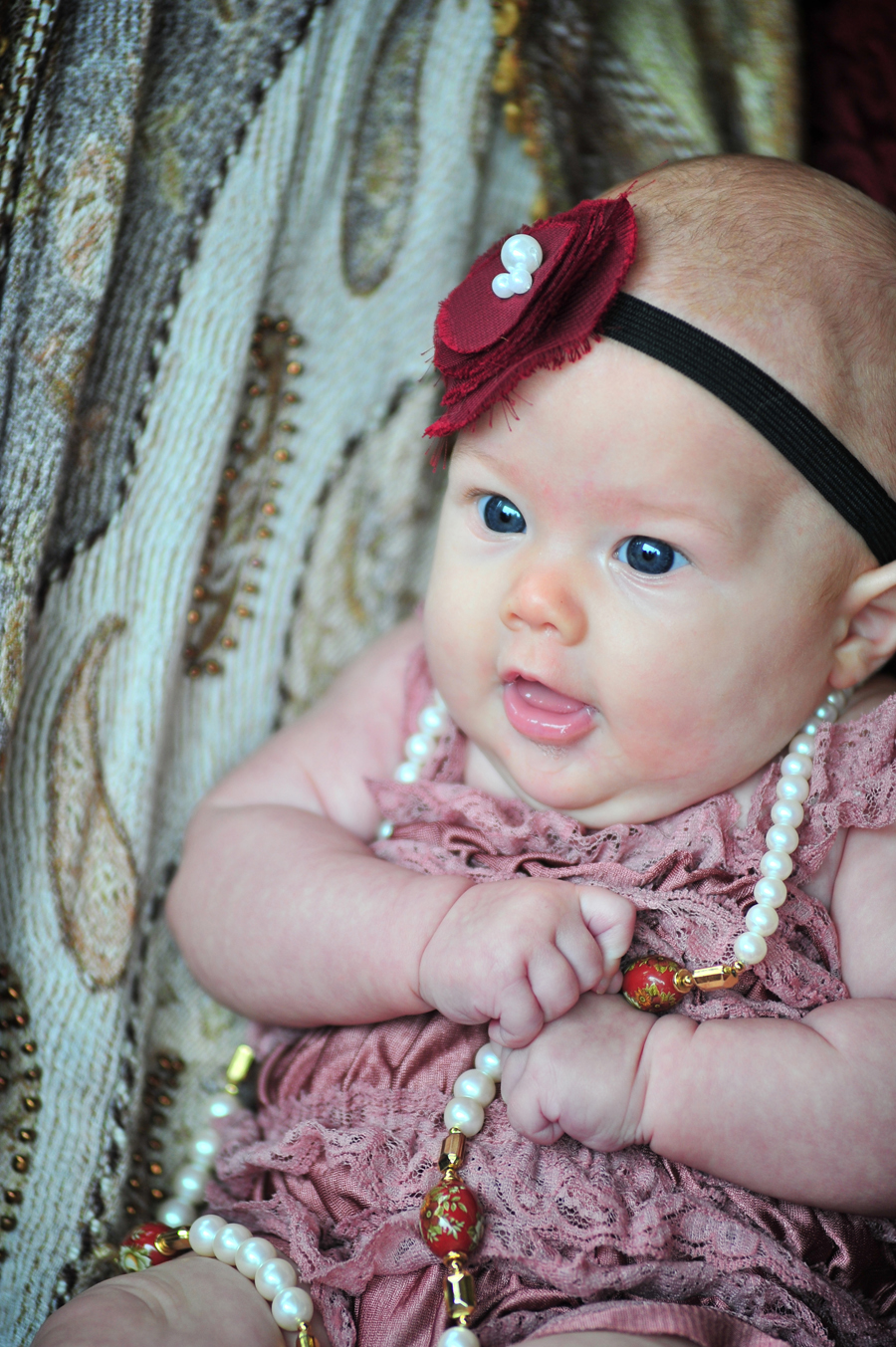 Vintage 1920s Style Glamour Baby  Domestic Geek Girl