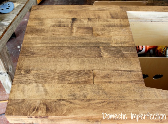 Minwax Natural Stain On Maple
