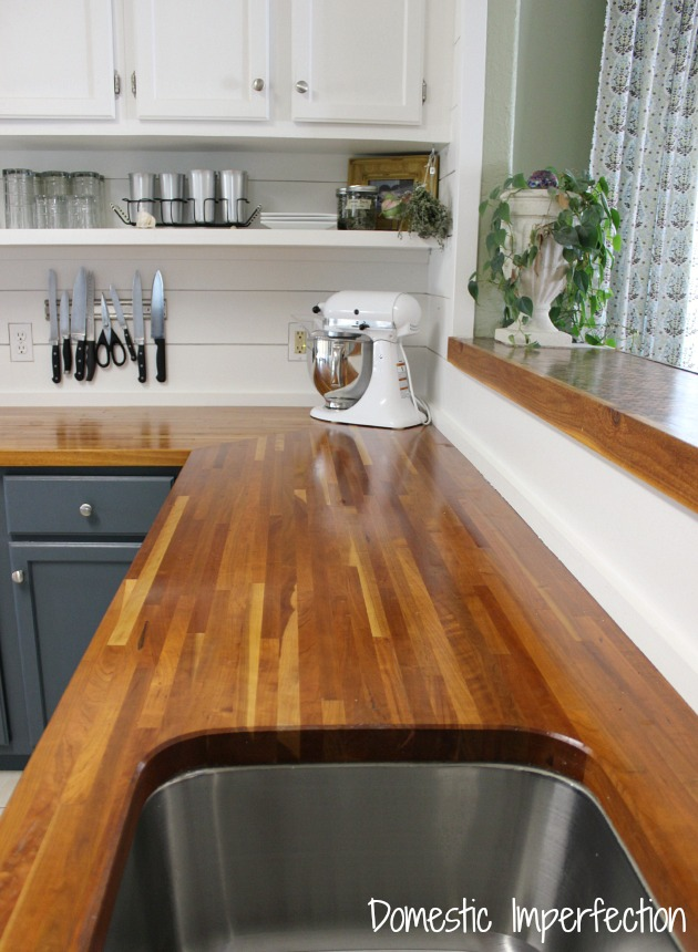 My Butcher Block Countertops Two Years