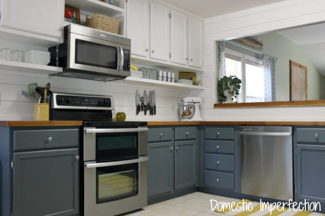 How to Raise Your Kitchen Cabinets to the Ceiling