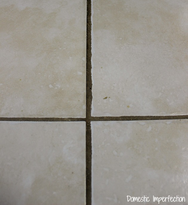 how to make dirty grout look new