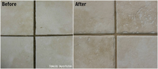 How to Make Dirty Grout Look New  Domestic Imperfection