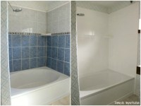 How Do You Paint Bathroom Shower Tiles - h Wall Decal