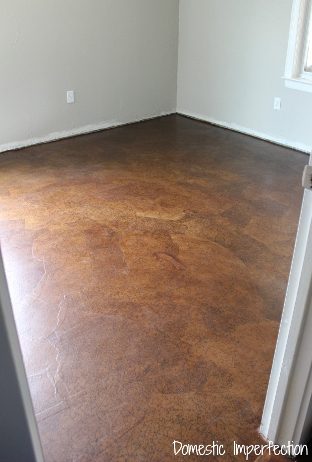 Guest Room Paper Flooring and why Im disappointed with it  Domestic Imperfection