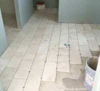 Grout mistakes and installed bathroom tile - Domestic ...