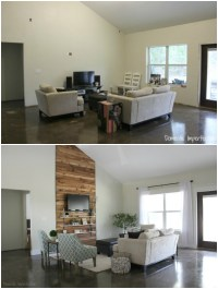 Eric and Kelseys Budget Living Room Makeover - Domestic ...