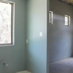 Installing Kitchen Flooring Drop Leaf Cart Painted Interior - Sherwin Williams Silvermist & Shoji ...