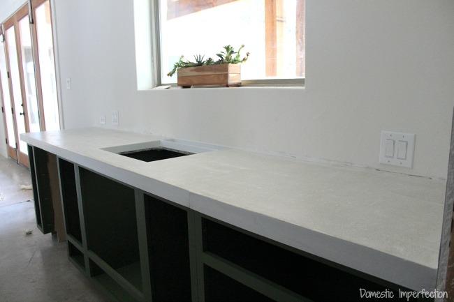 Diy Concrete Countertops Part Ii The