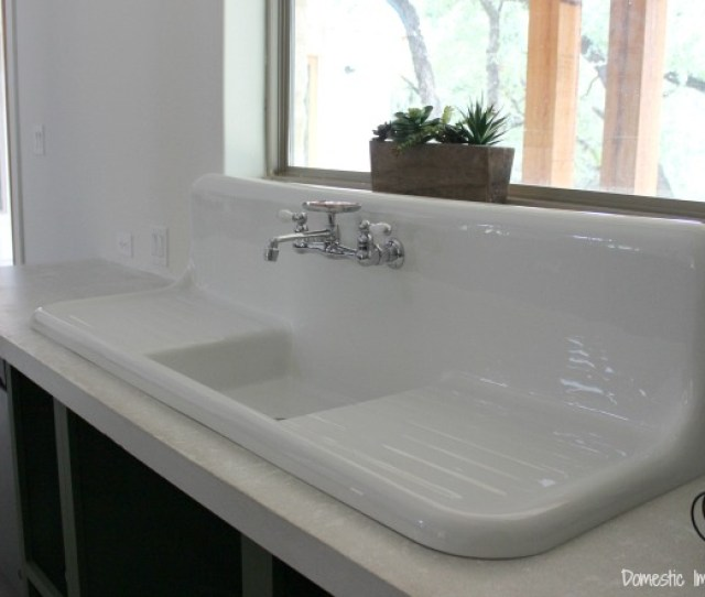 Double Drainboard Kitchen Sink
