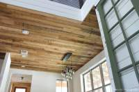 The Most Gorgeous DIY Rustic Wood Ceiling - Domestic ...