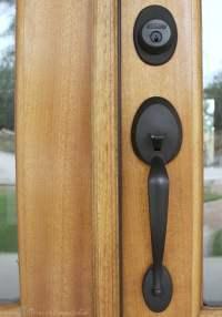 My Oil Rubbed Bronze Door Hardware