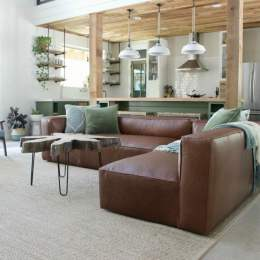 My New Article Leather Sectional And Why I Returned It Domestic Imperfectio