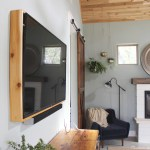 How To Build A Tv Frame Domestic Imperfection