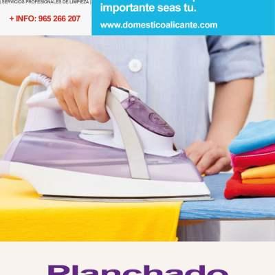 planchado-profesional-domestico Limpieza del Hogar - Doméstico Alicante