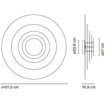 Lámpara Concentric