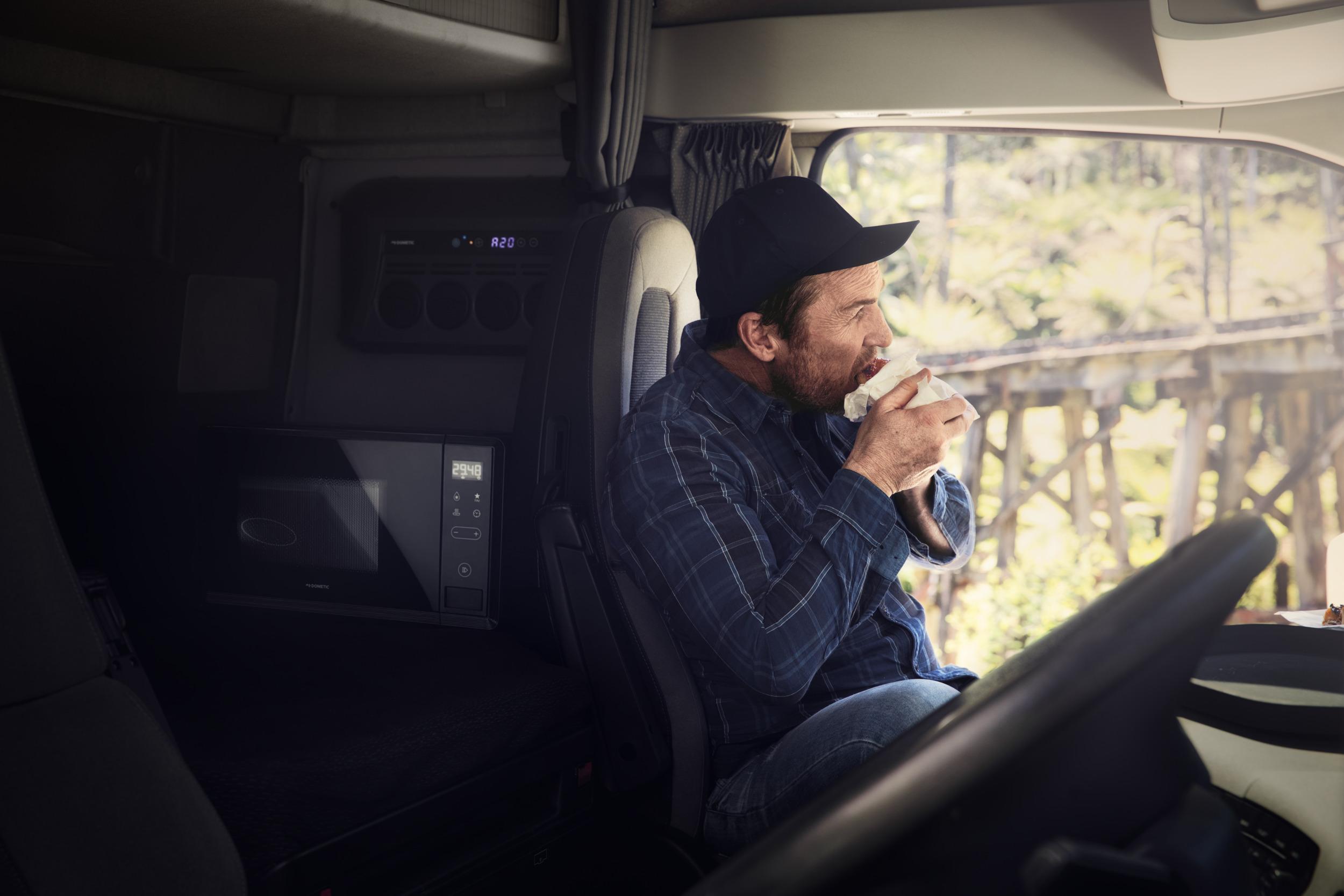 truck microwaves 24v with inverter