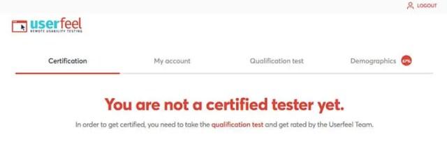 Avis Userfeel : test de qualification