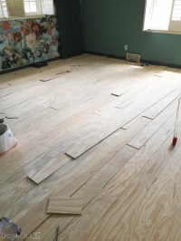 Plank Wood Flooring and Staining the Floors with WOCA ...