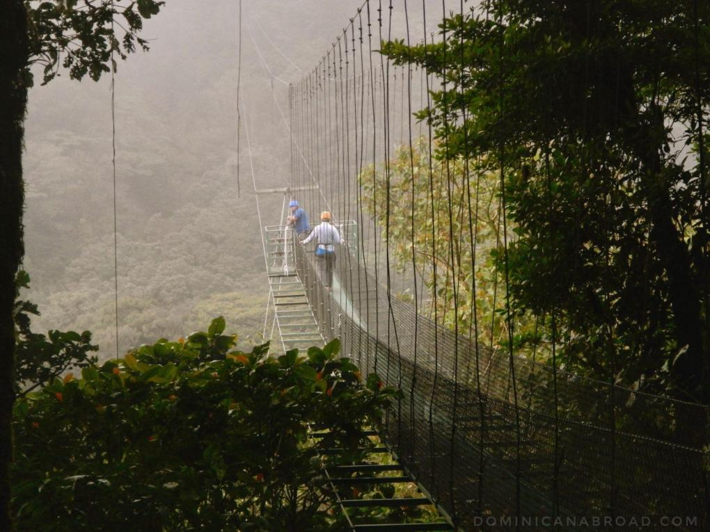 Monte Verde, Costa Rica Ziplining Bungie Jumping