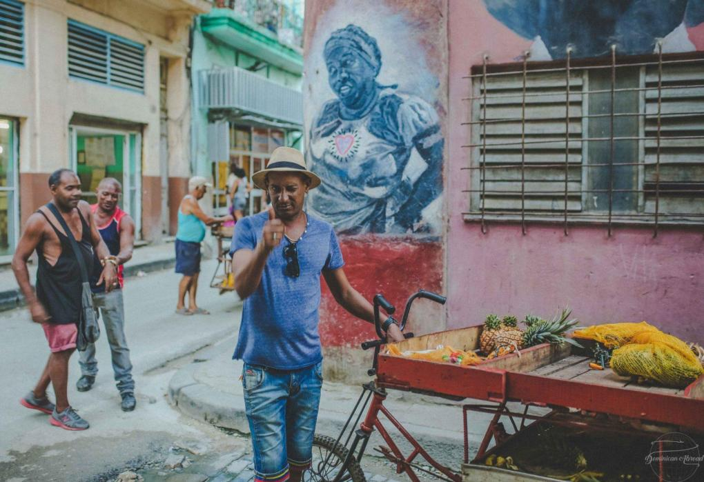 cuban entrepreneur fruit stand