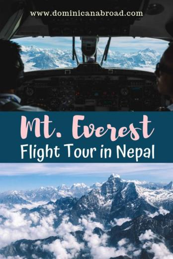 mt everest flight tour